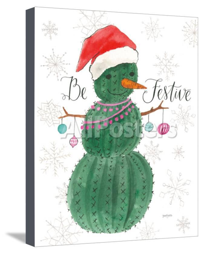 A Very Cactus Christmas I Be Festive Prints by Jenaya Jackson at 671x841