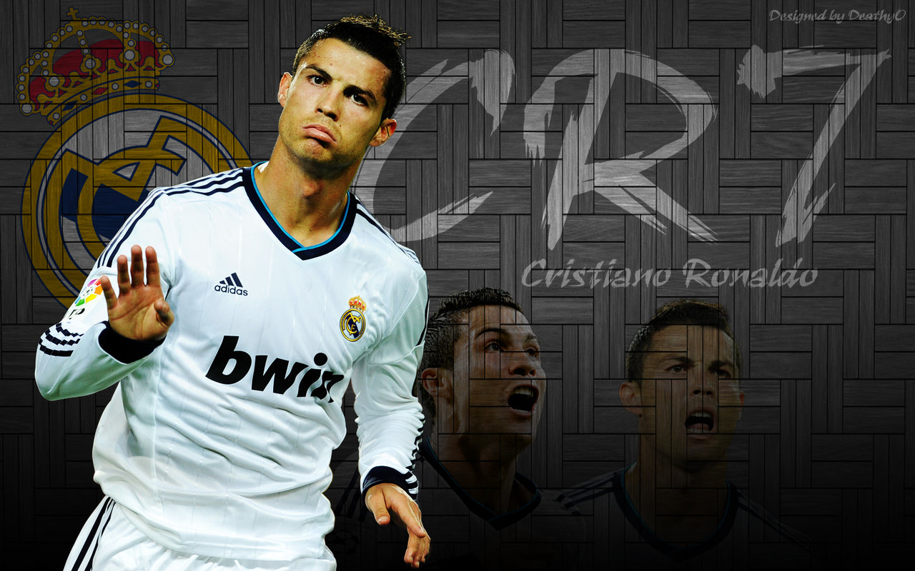 Cristiano Ronaldo CR7 Cool Wallpaper by DeathyO by DeathyOAlex 1280x800