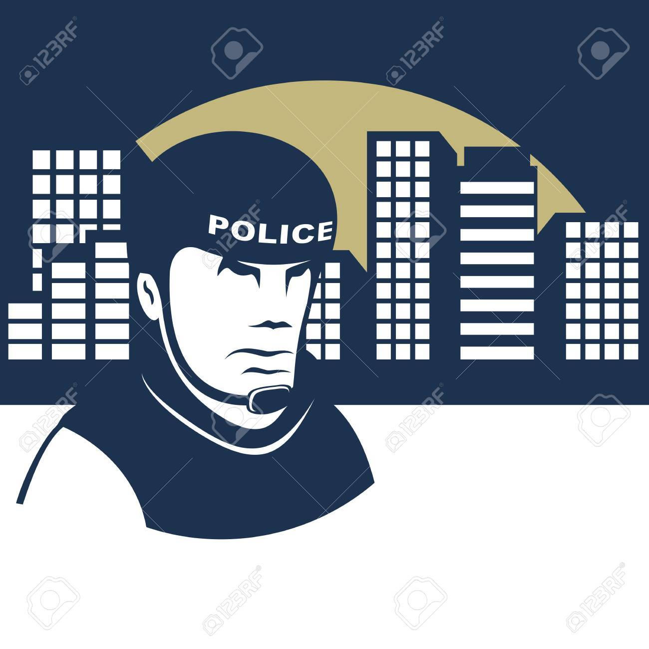 Background On The Police Theme Policeman In A Helmet Guards 1300x1300