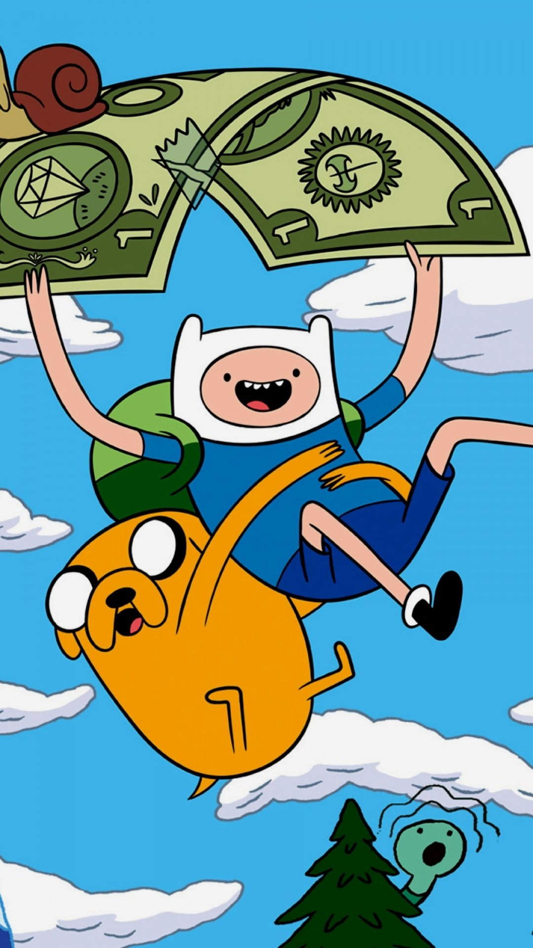 1080x1920px adventure time iphone wallpaper wallpapersafari adventure time iphone wallpaper voltagebd Choice Image