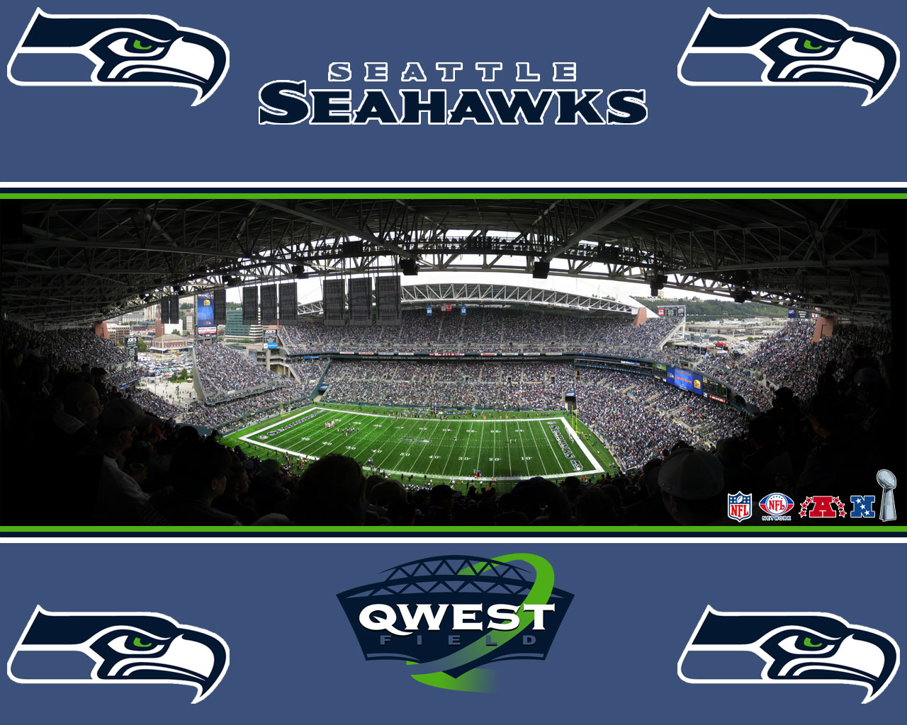 Field stadium Seattle Seahawks wallpaper nfl wallpaper Seahawks 1280x1024