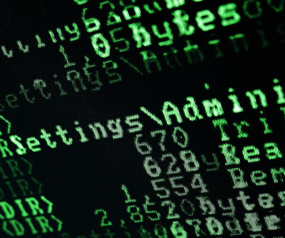 wallpapers code hacker Symbols Green System Hi tech photo 960x800 960x800