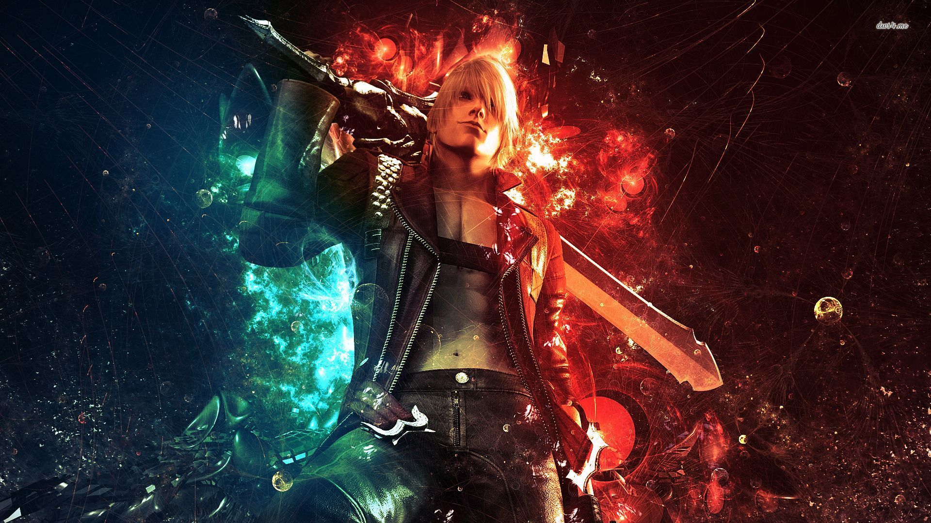 Free Download 6426 Devil May Cry 3 Dante 1920x1080 Game Wallpaper