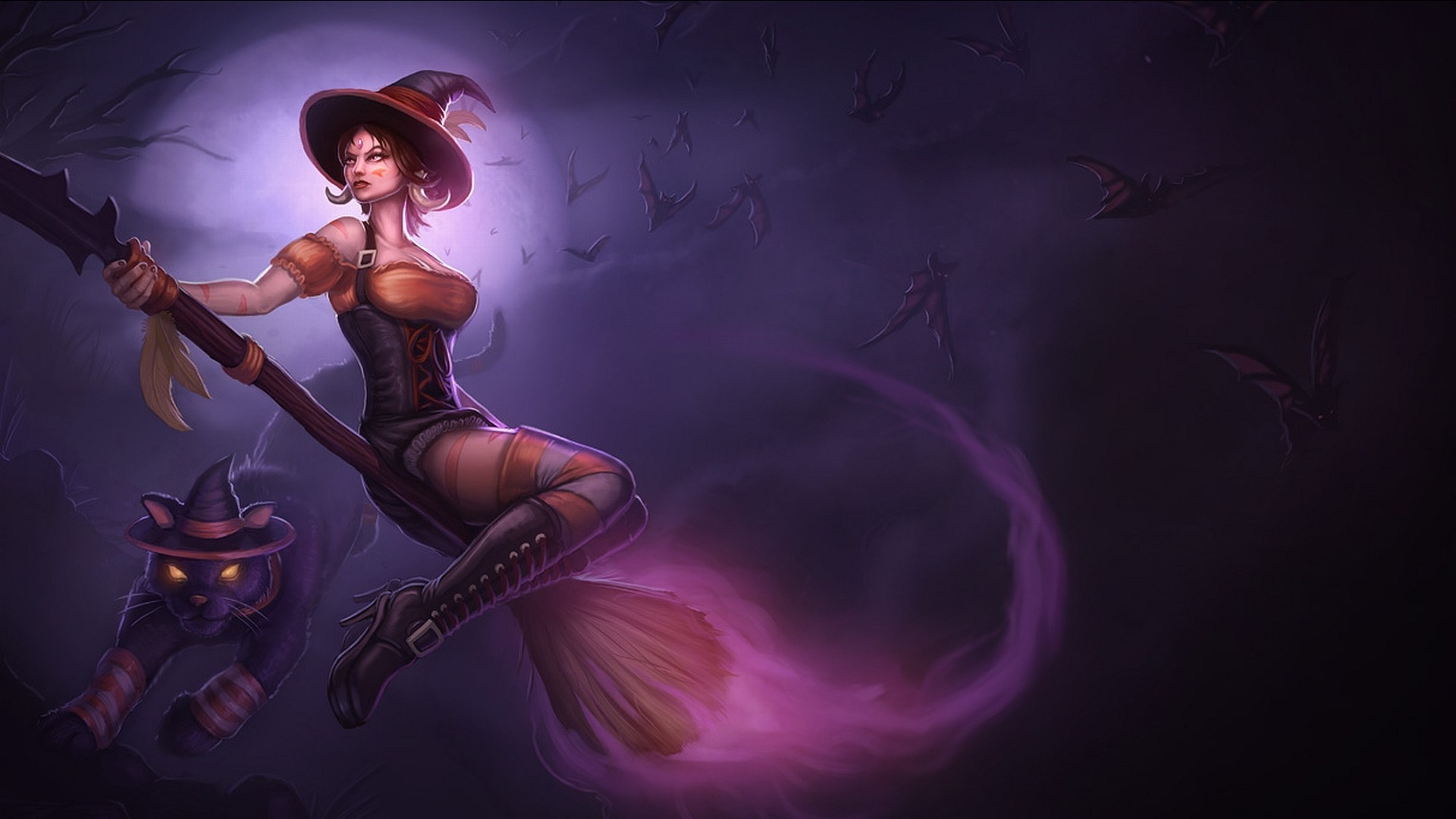 Nidalee League of Legends LoL Game Games 1920x1080 hdweweb4com 1920x1080
