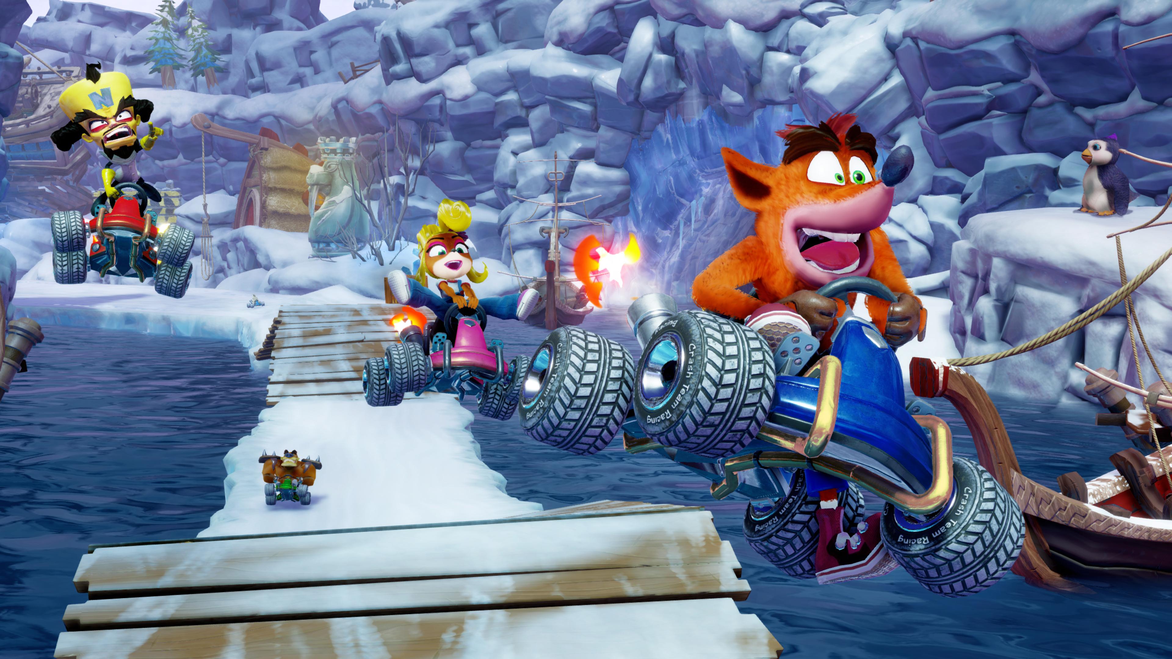 Crash Team Racing Nitro Fueled The Game Awards 2018 4k Ultra HD 3840x2160