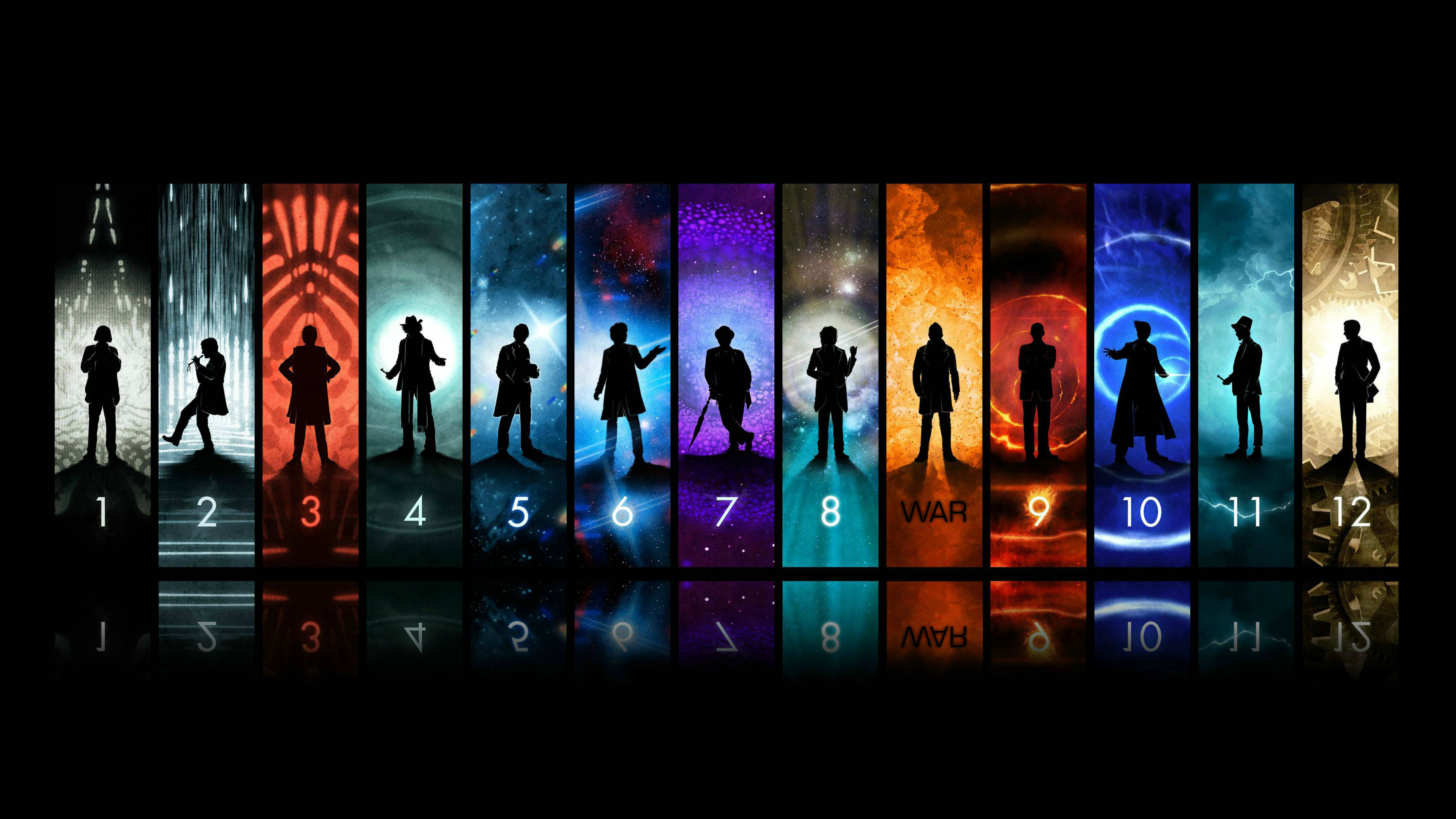 did of a Doctor Who wallpaper posted on reddit to alter the War Doctor 3456x1944