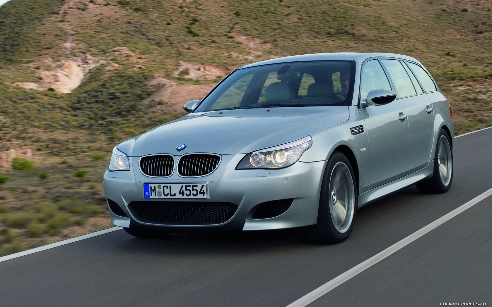 Car wallpapers   BMW M5 Touring   2006 1680x1050