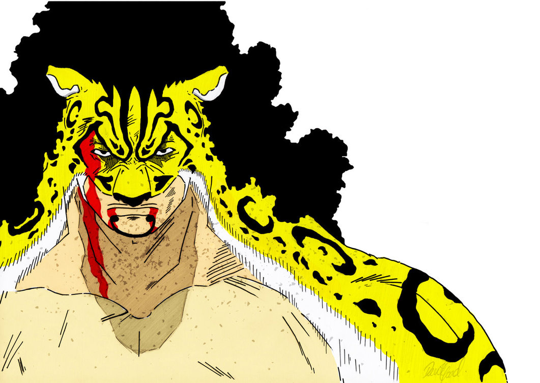 ONE PIECE Rob Lucci Colour by DGoad 1061x753