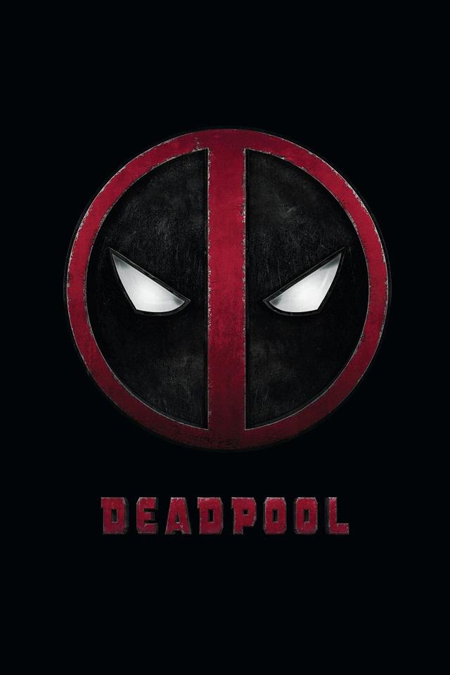 Deadpool Logo iPhone Wallpaper HD 640x960