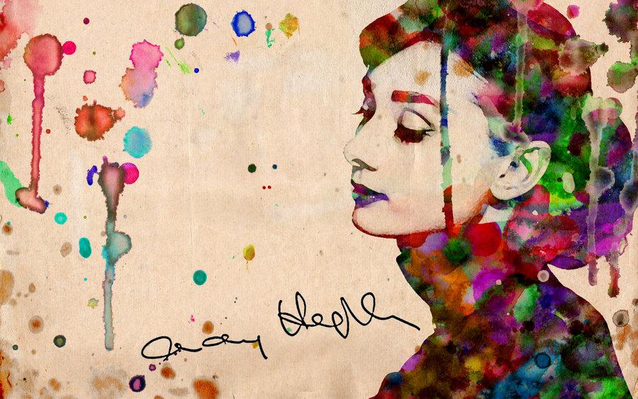 Audrey Hepburn Wallpaper by haueryou 900x563