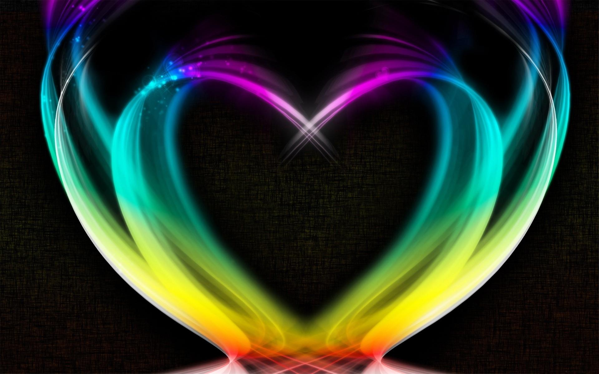 Cool Neon Heart Wallpaper 1920x1080px 776672 1920x1200