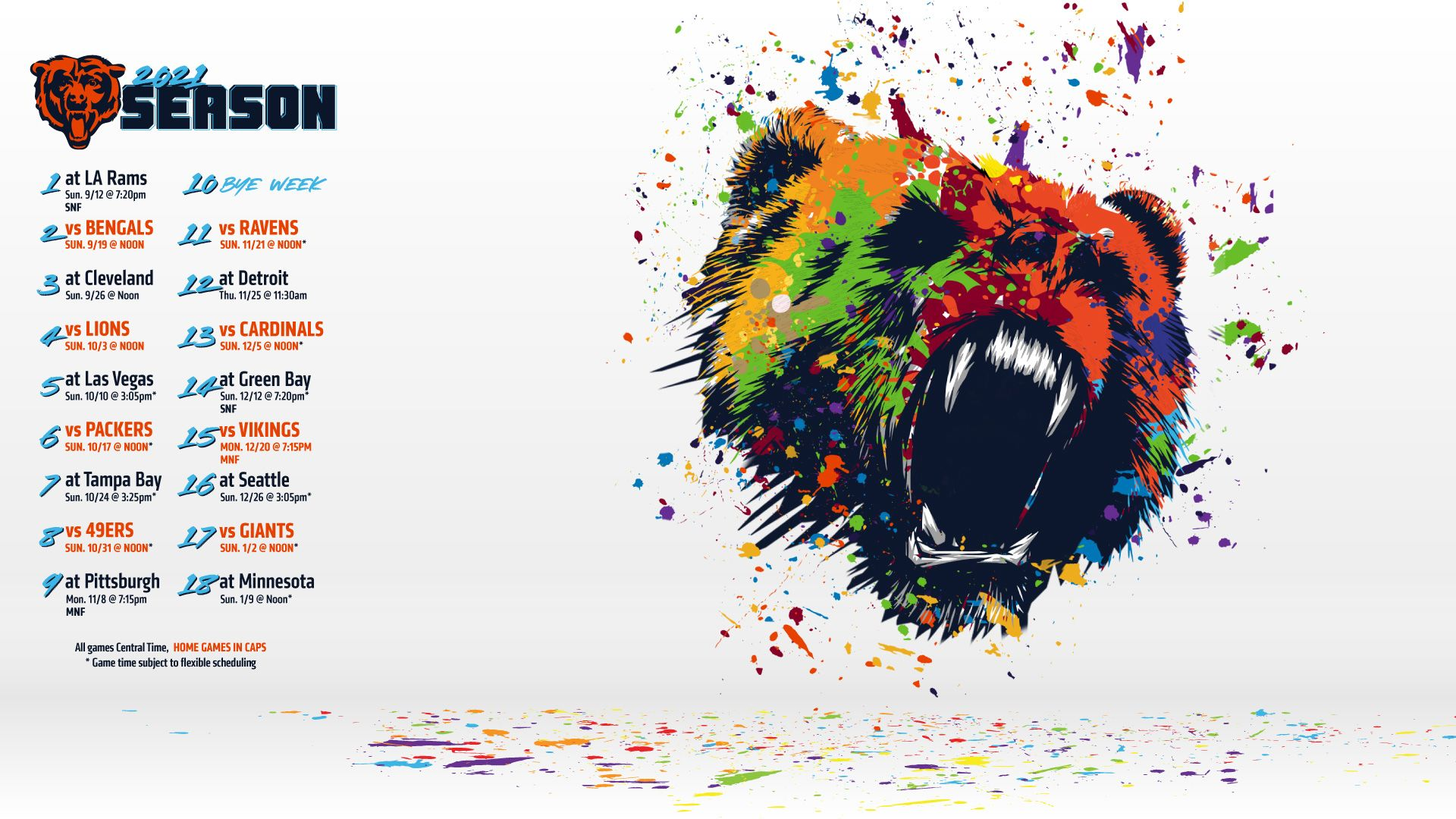 Wallpapers Chicago Bears Official Website 1920x1080