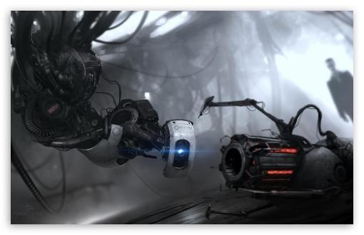 Portal 2 GLaDOS HD wallpaper for Standard 4:3 5:4 Fullscreen UXGA XGA ...