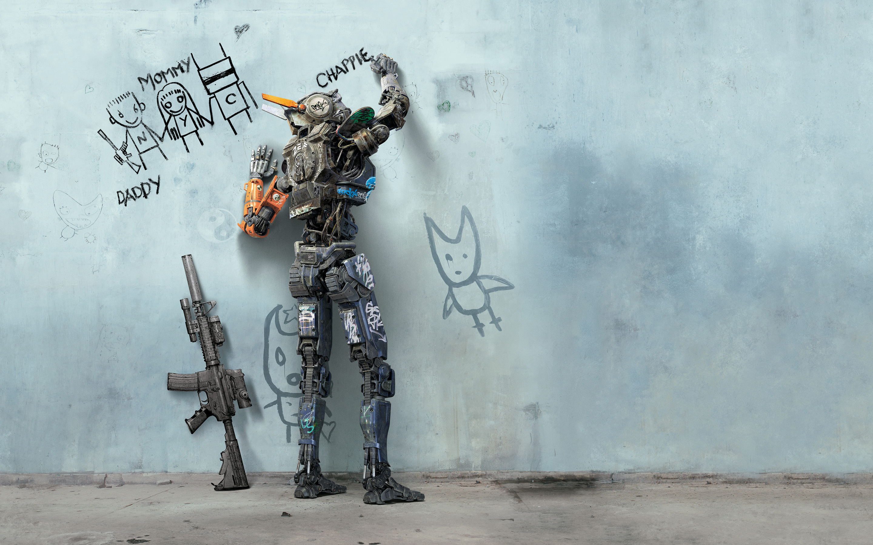 42 Chappie HD Wallpapers Background Images 2880x1800