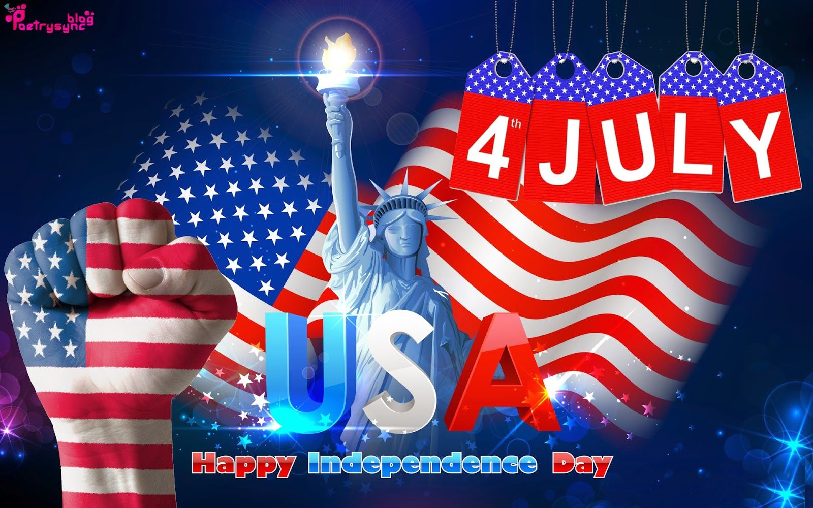 Happy Independence Day USA 2018^ Quotes Wishes Images Pics 1600x1000