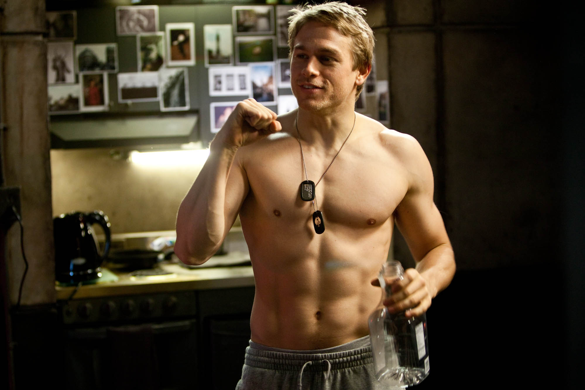 Charlie Hunnam Shirtless HD Wallpaper HD Wallpaper For desktop 1999x1333