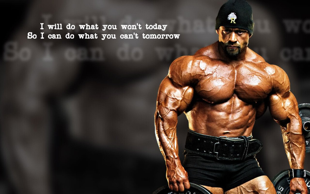 50+] Bodybuilding Motivation Wallpaper on WallpaperSafari