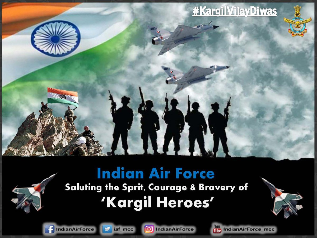 Indian Air Force on Twitter KargilVijayDiwas named after the 1200x900