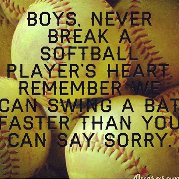 Best Softball Dad Quotes 612x612