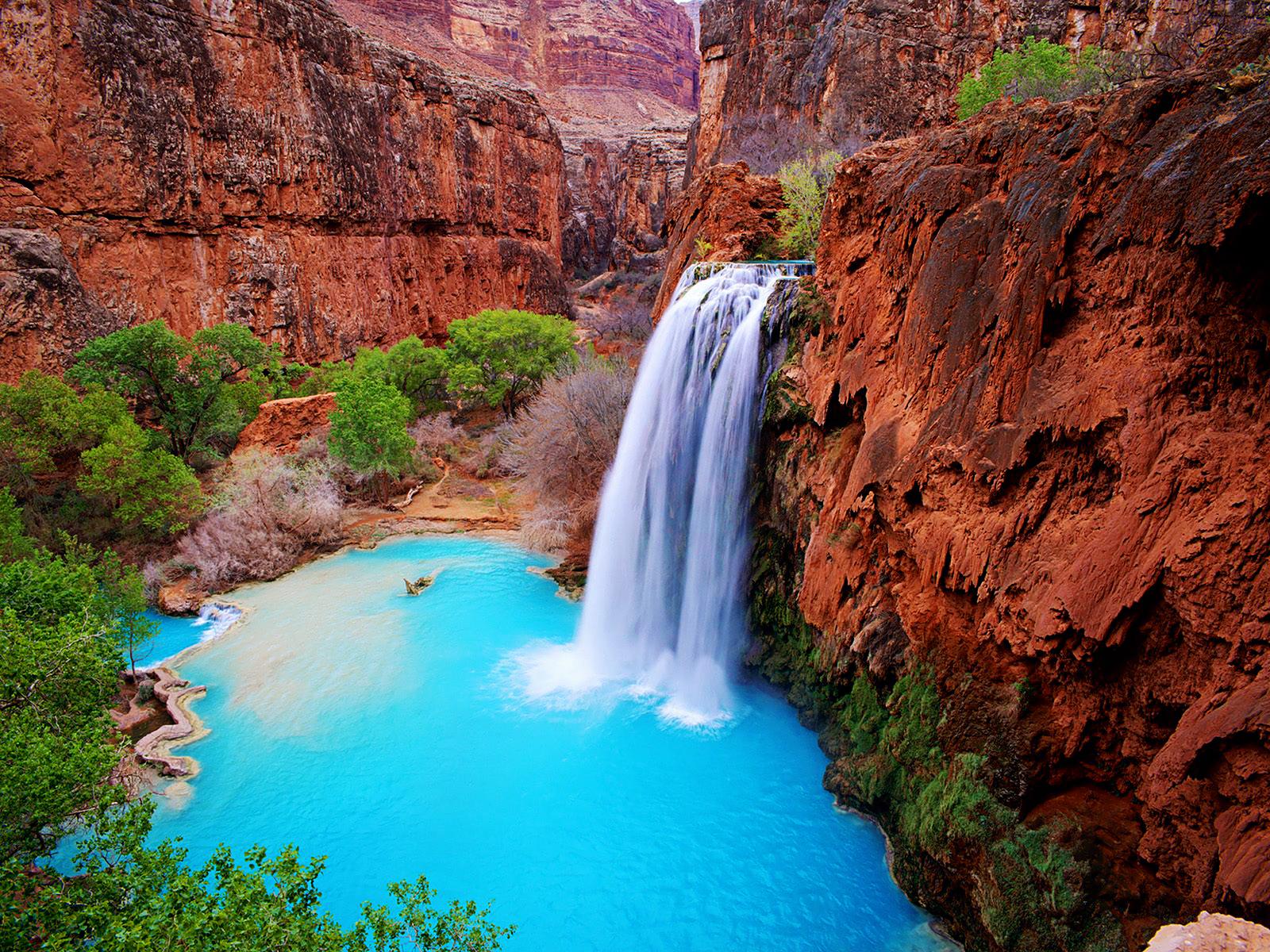 Desktop Waterfall Wallpaper Download Nature Beauty NextChanel 1600x1200