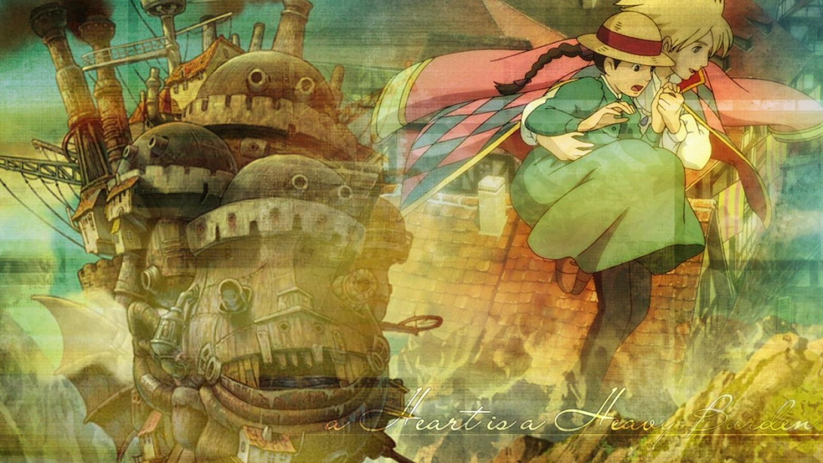 Howls Moving Castle Wallpaper Widescreen