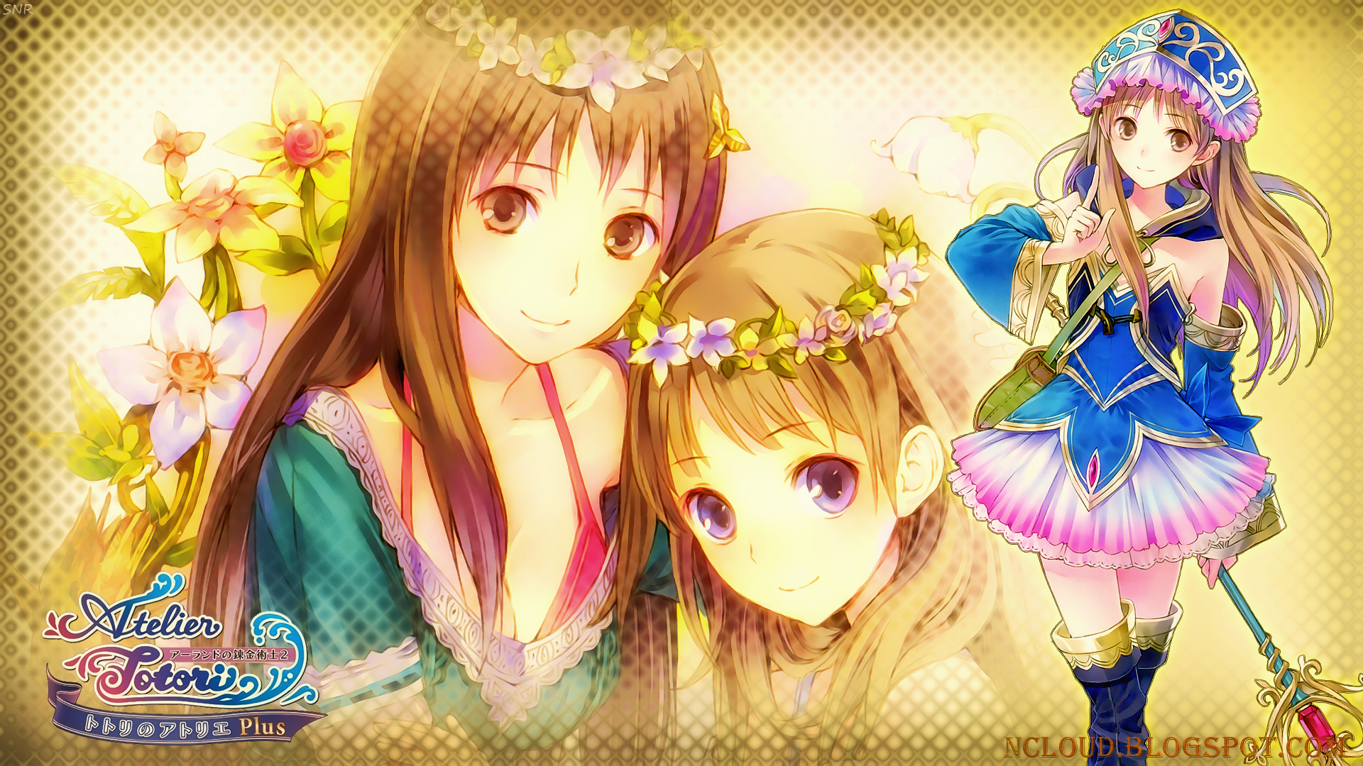 Atelier Ayesha Wallpaper My atelier totori plus 1920x1080