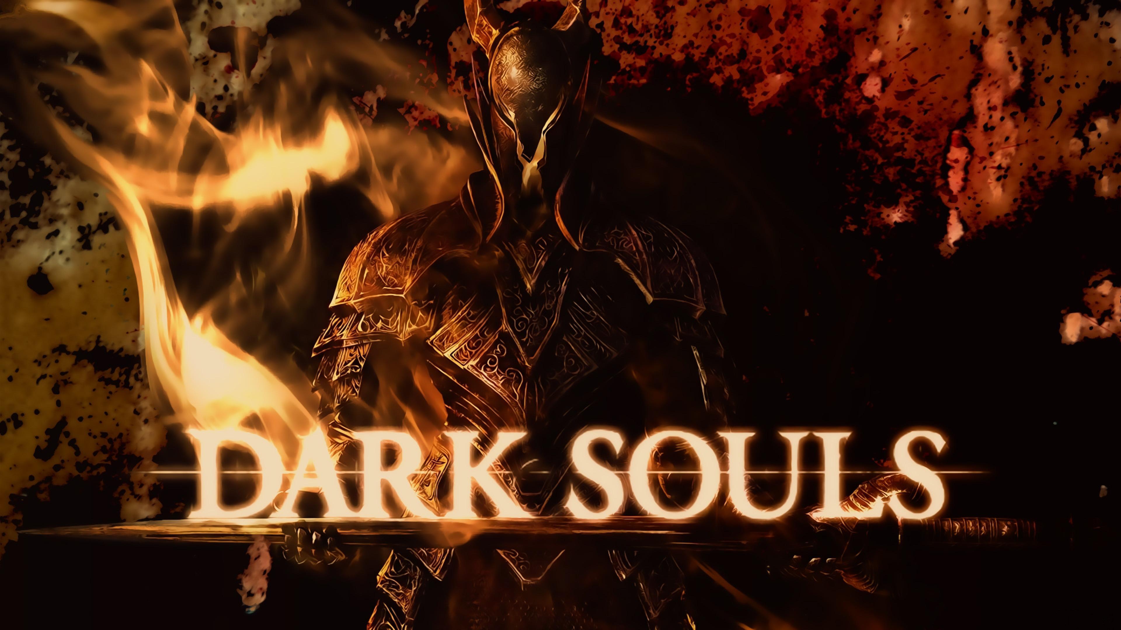 dark souls armor blood light name 3840x2160