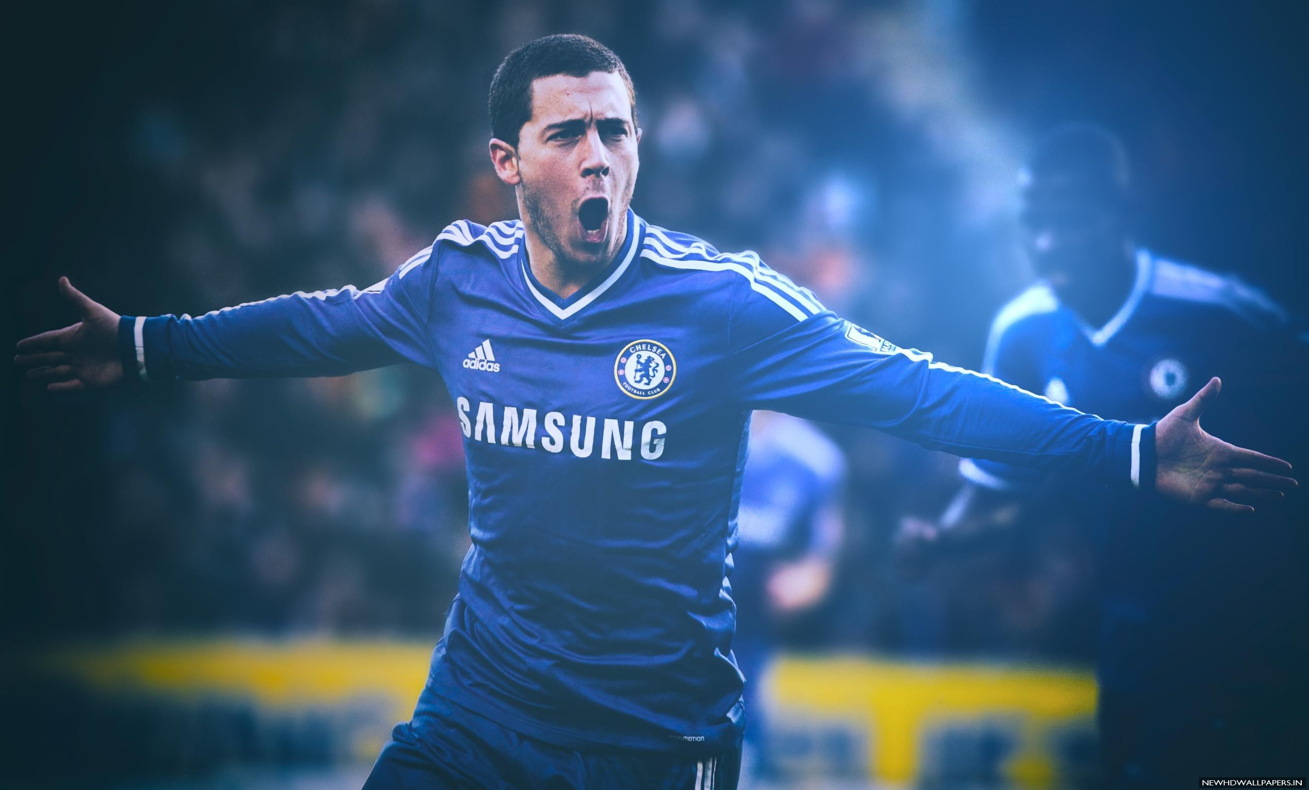 Download Eden Hazard Chelsea Footballer 2015 Image New Hd