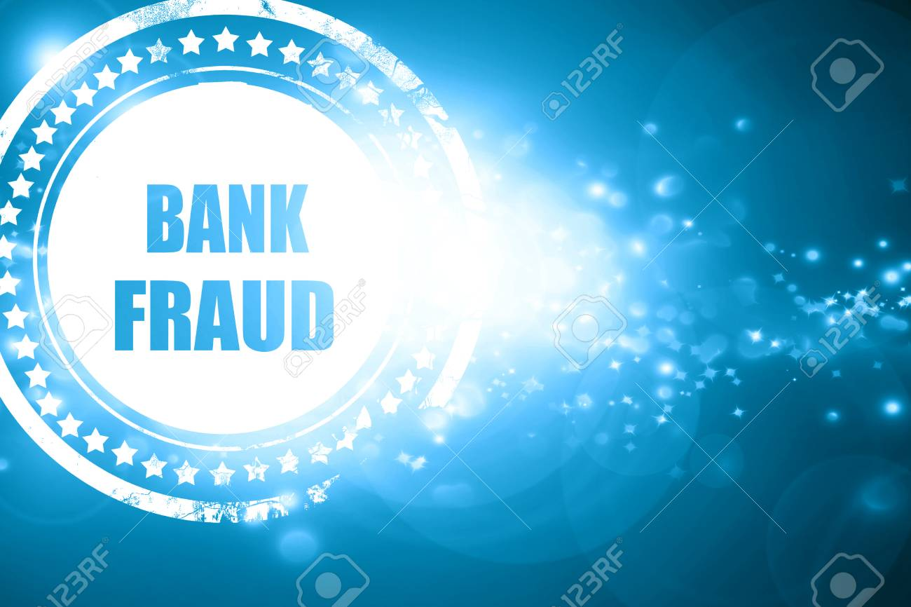 Glittering Blue Stamp Bank Fraud Background With Some Smooth 1300x866
