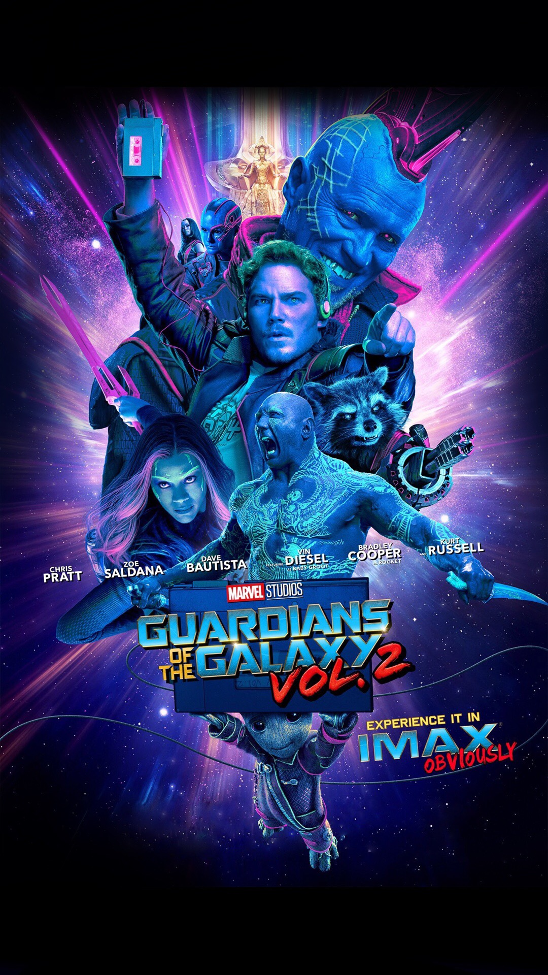 Guardians of the Galaxy Vol 2 wallpapers 1080x1920