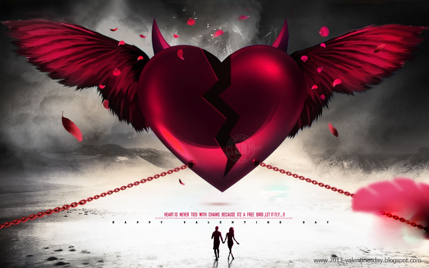 Valentines day 2013 HD wallpapers 1024px 1920px Quotes Wallpapers 1440x900