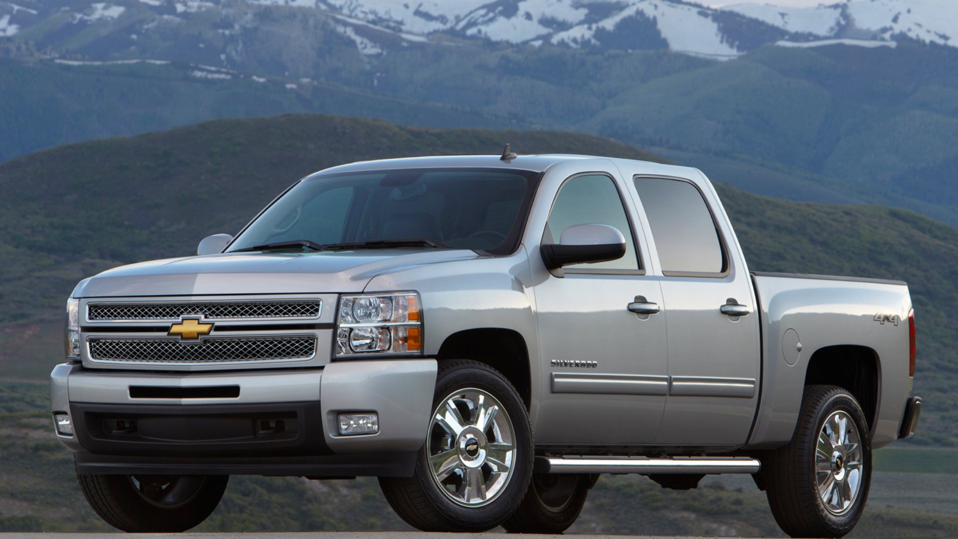 2013 Chevrolet Silverado HD Wallpapers 1920x1080