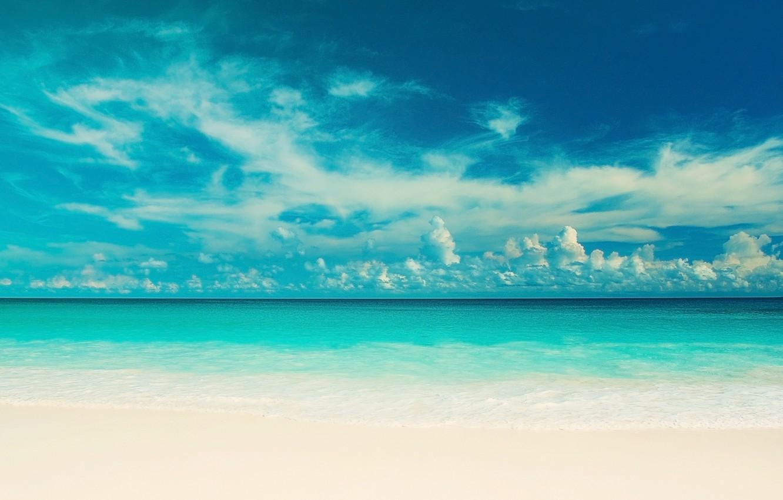 Wallpaper sea beach the sky water clouds landscape nature 1332x850