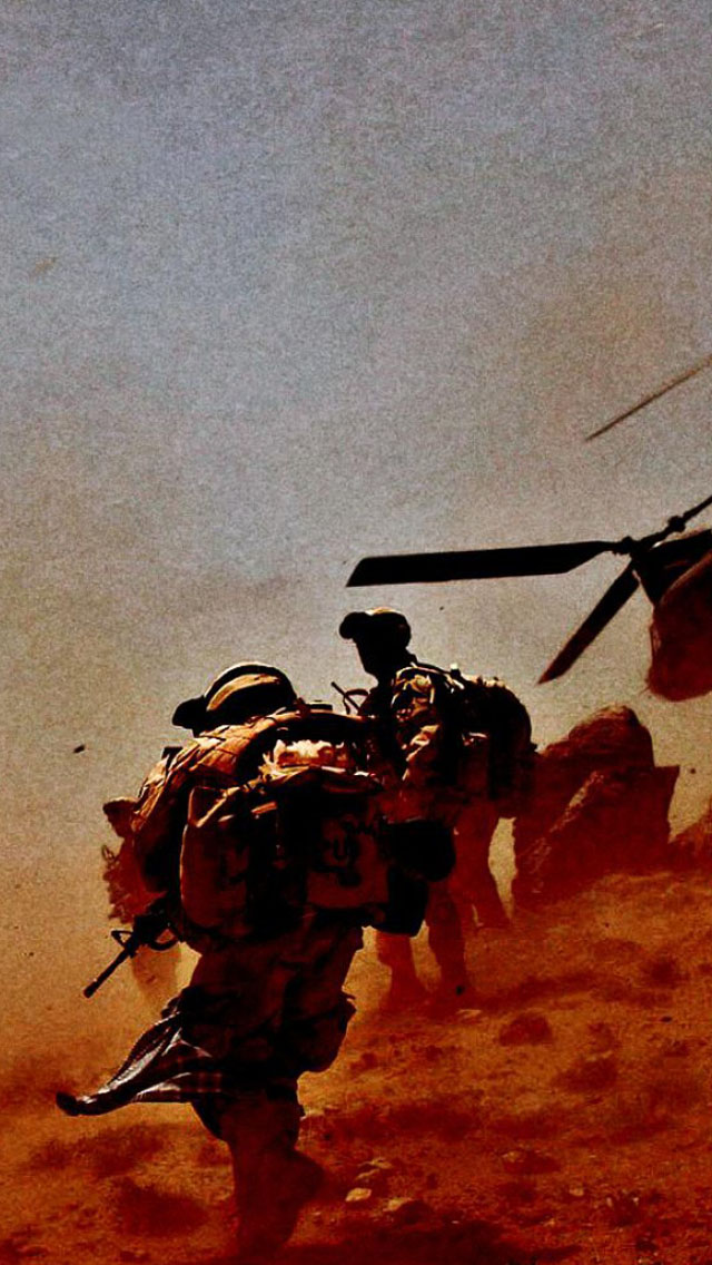 Troops iPhone 5 wallpapers Background and Wallpapers 640x1136