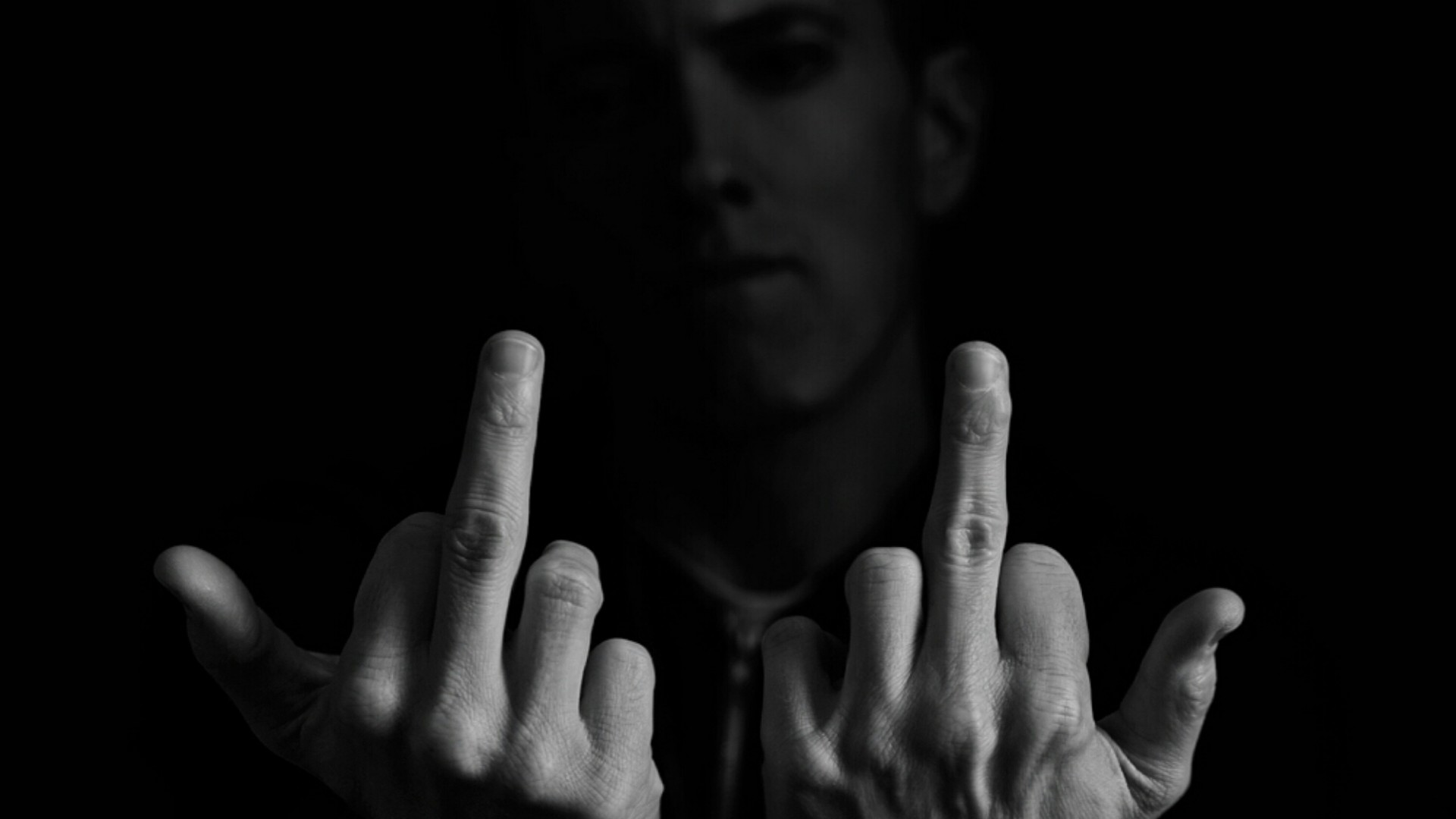 Free Download Eminem Middle Finger Rap Wallpapers Clip Art