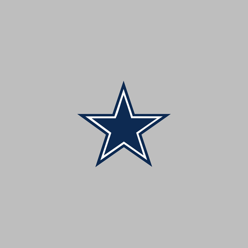 Dallas Cowboys Team Logo iPad Wallpapers Digital Citizen 1024x1024