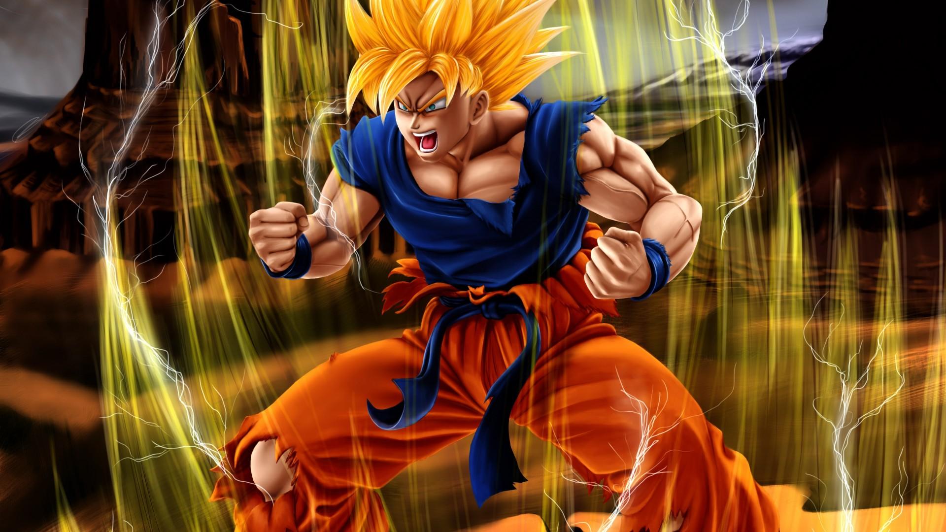 Dragon Ball Z Goku Wallpaper Backgrounds Best vicvaporcom 1920x1080