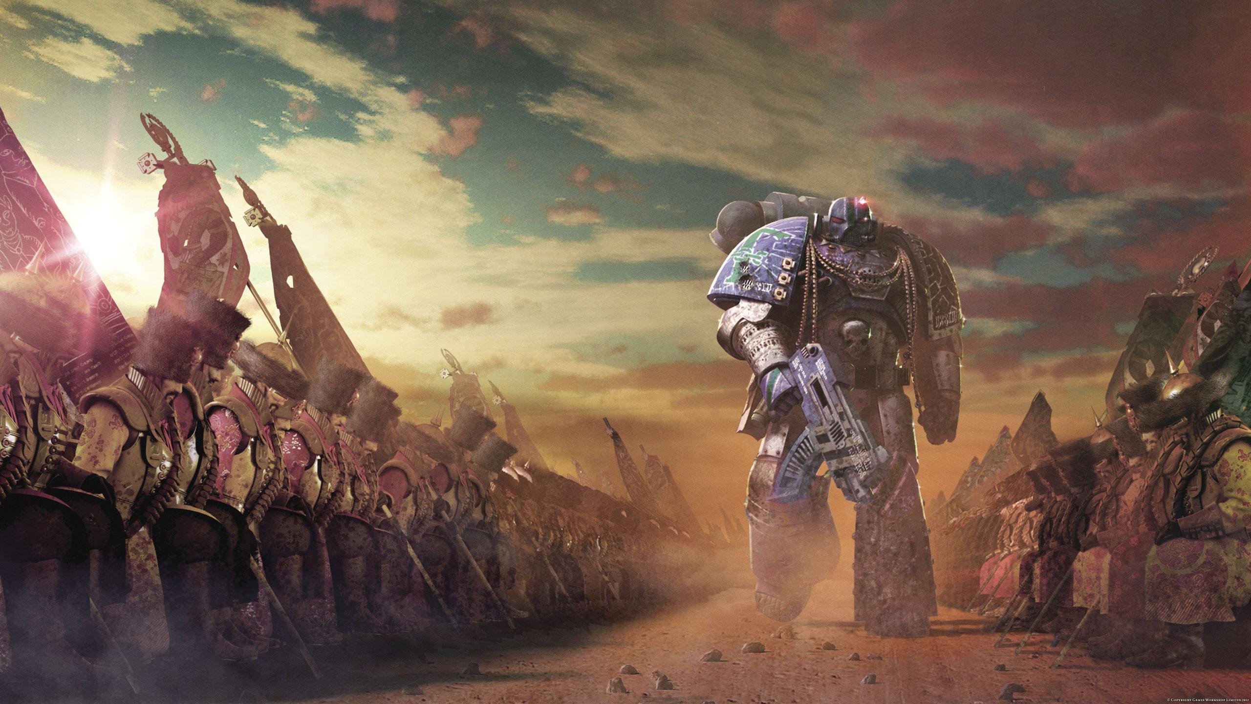 ... 40k space marines science fiction horus heresy wallpaper background