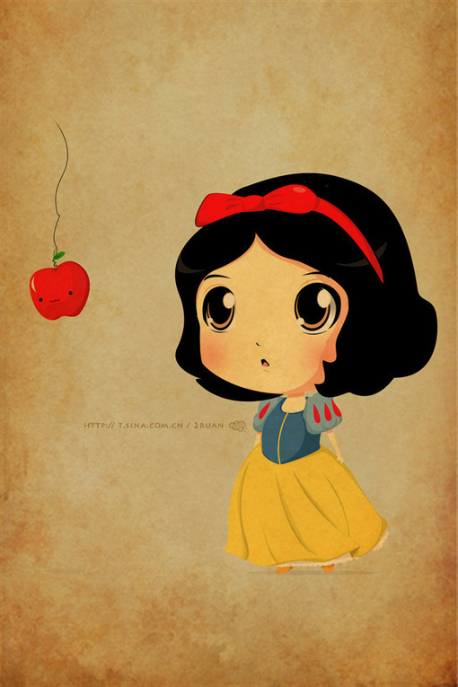 Cute cartoon character wallpaper wallpapersafari - Female cartoon characters wallpapers ...