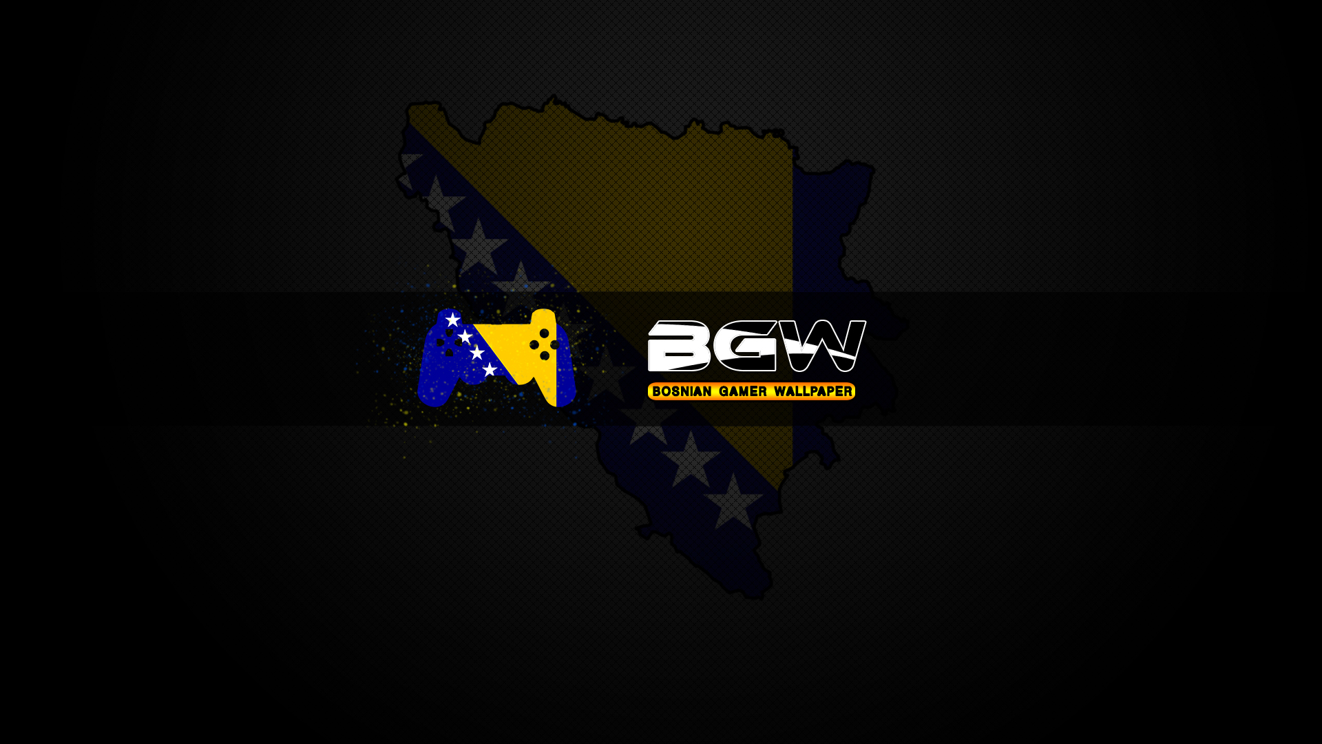 Bosnian Gamer Wallpaper [HD] by muamerART 1920x1080