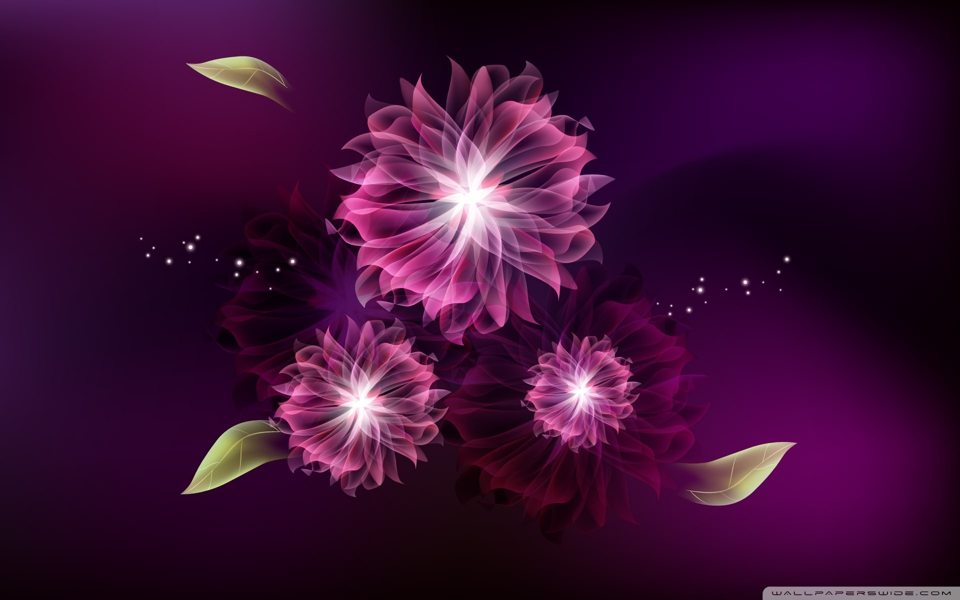 75 Abstract Flowers Wallpapers on WallpaperPlay 1920x1200