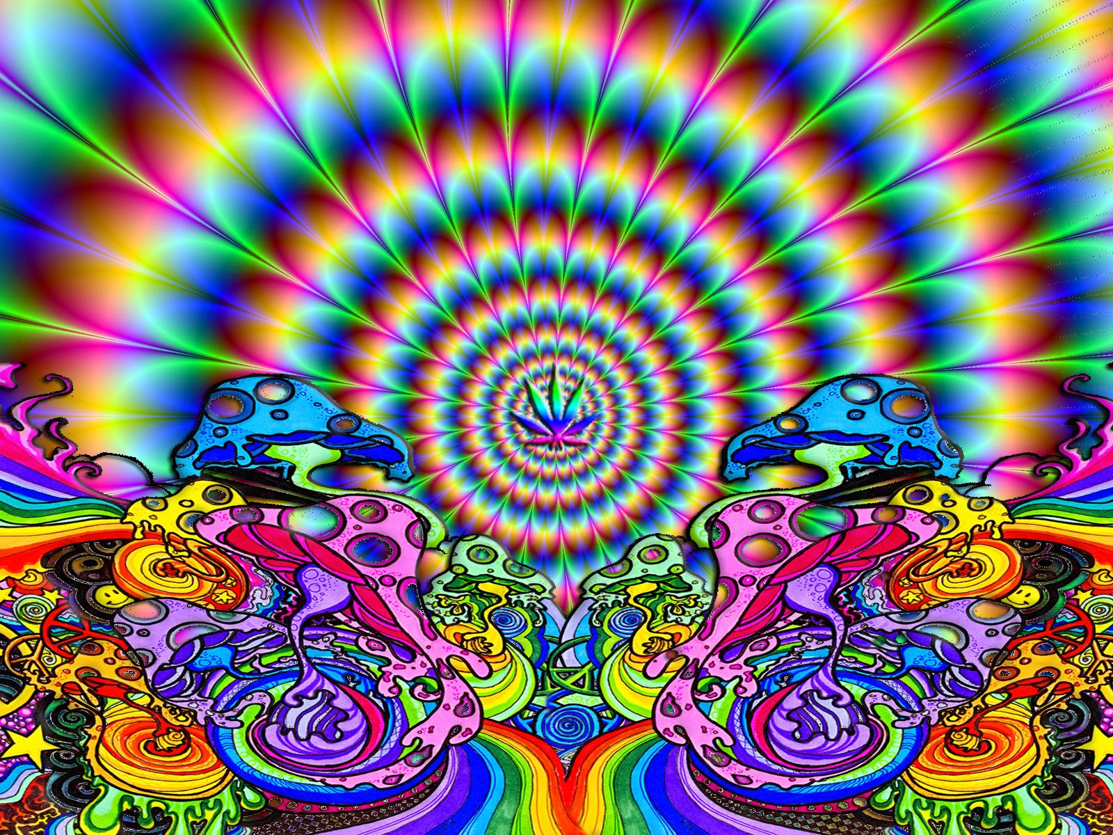 518 Psychedelic HD Wallpapers Background Images 1600x1200