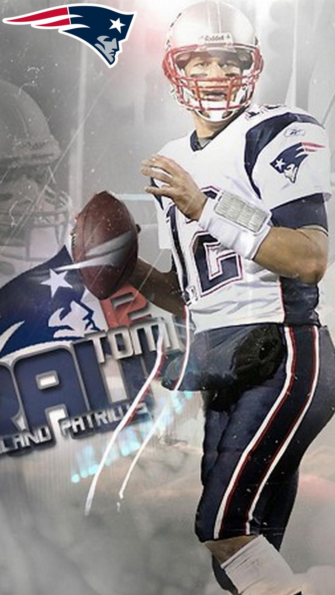 Tom Brady Patriots iPhone 8 Wallpaper 2020 NFL Football Wallpapers 1080x1920