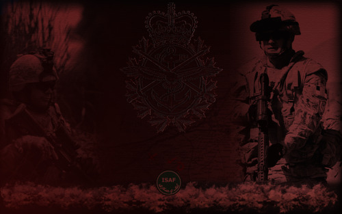 Canadian Military Backgrounds 500x313