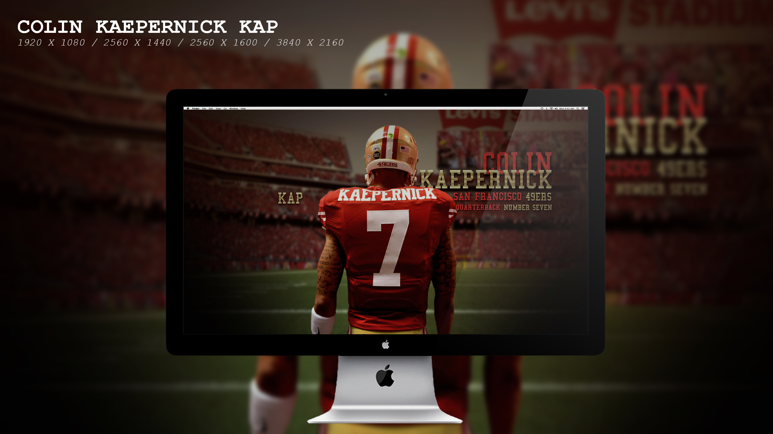 Colin Kaepernick Kap Wallpaper HD by BeAware8 2560x1440