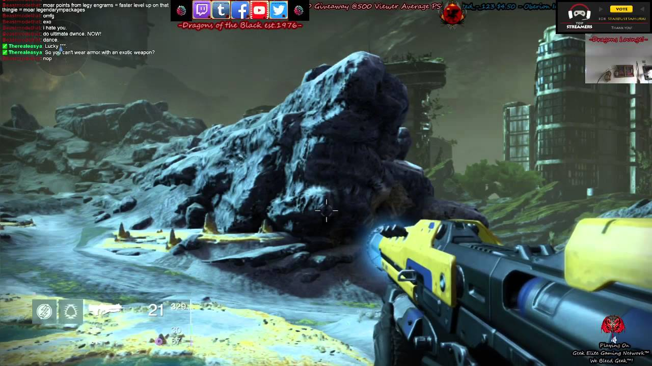 Destiny LV25 Legendary Item Raids w Stardust Samurai W DEAD 1280x720