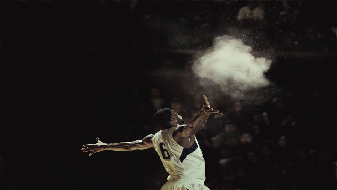 Download Lebron James HD Wallpapers for iPhone 5 8 1136x640