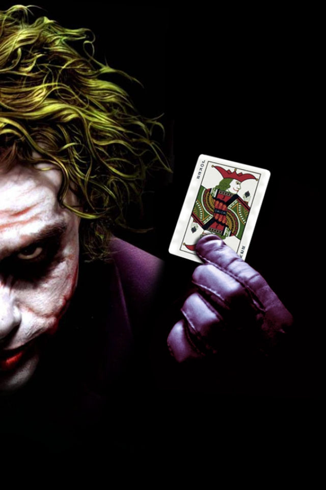 Joker iPhone HD Wallpaper iPhone HD Wallpaper download iPhone 640x960