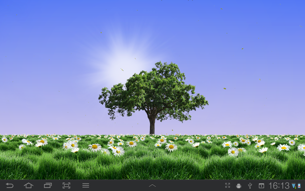 Free Download Summer Trees Live Wallpaper Android Apps On