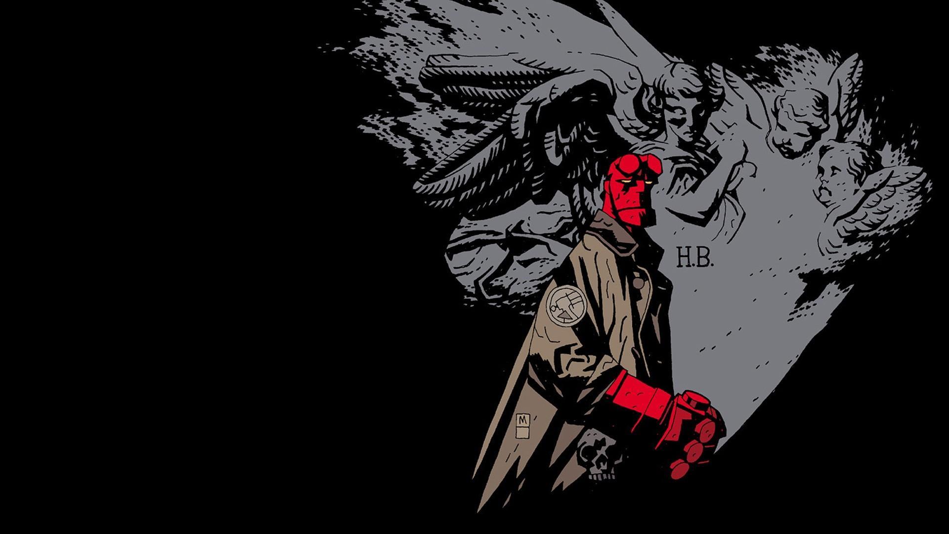 Comics hellboy wallpaper 58629 1920x1080